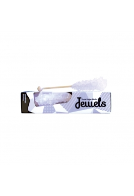 Jewels Rock Sugar Sticks - Coconut
