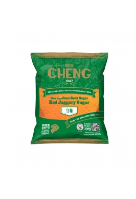 Cheng Brand Red Jaggery Sugar 250g