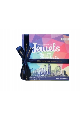 Jewels Rock Sugar Sticks x The 1872 Clipper Tea Co.